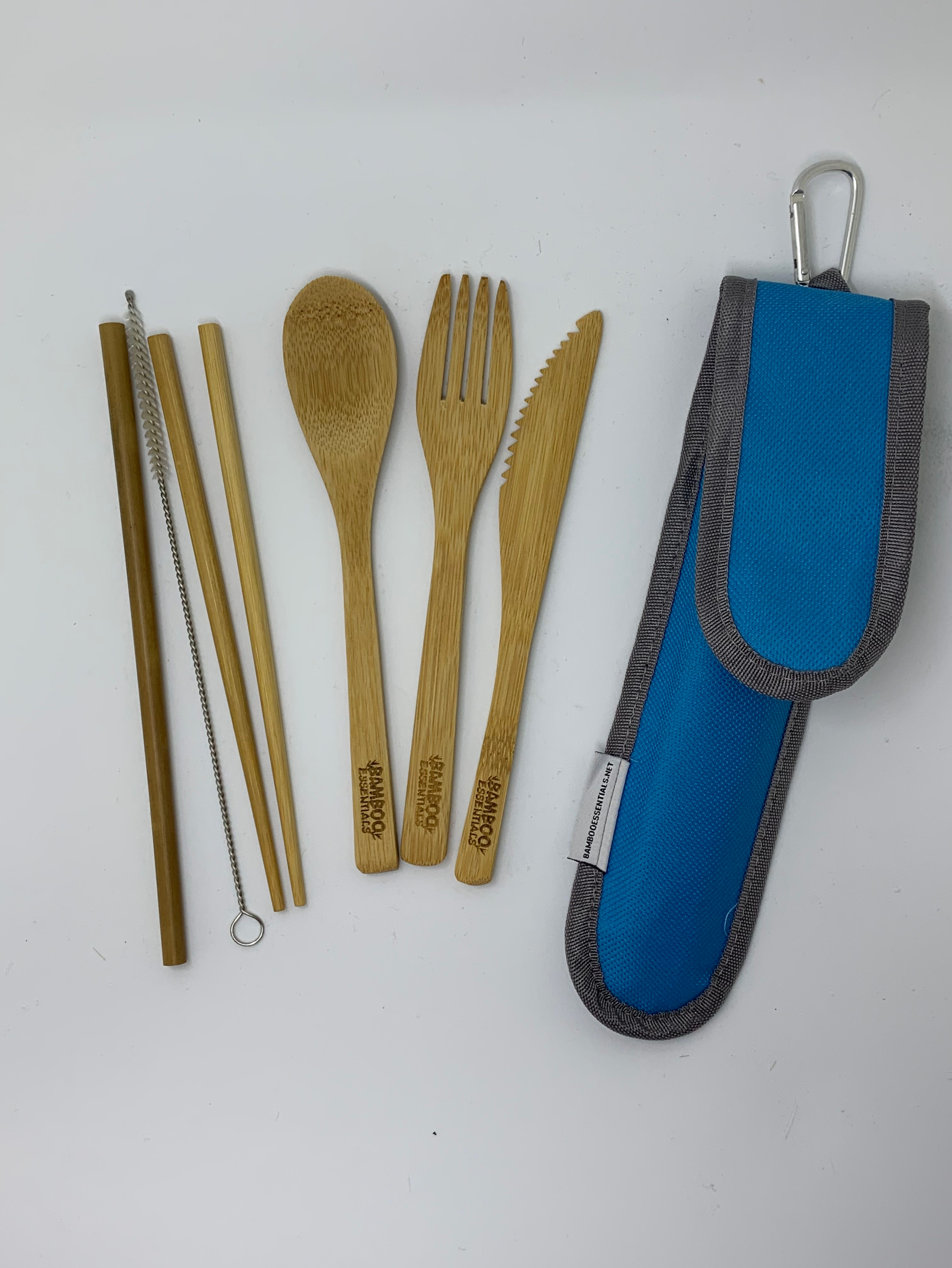 Bamboo travel utensils to help you travel sustainably