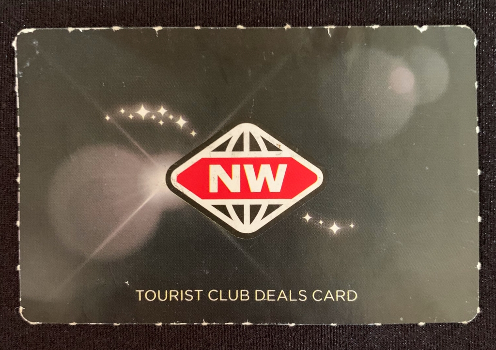New World Grocery Store Club Card