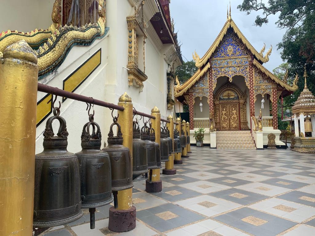 Wat Phrathat Doi Suthep, near Chiang Mai, Thailand