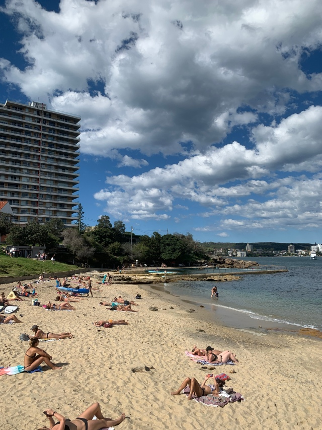 Fairlight Beach in Manly, Australia